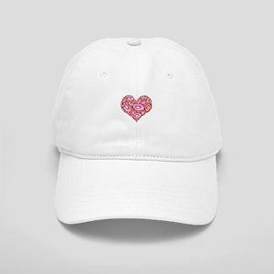 Heart of Donuts Cap
