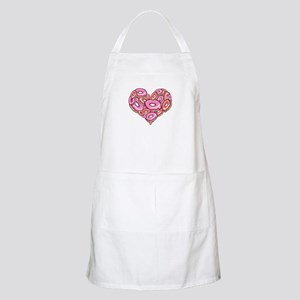 Heart of Donuts BBQ Apron