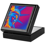 Pop Art Statue of Liberty Keepsake Box