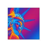 Pop Art Statue of Liberty Sticker