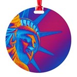 Pop Art Statue of Liberty Ornament