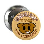 """Licensable BearTM 2.25"""" Button (10 pack)"""