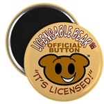 "Licensable BearTM 2.25"" Magnet (10 pack)"