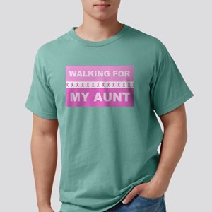 Walking For My Aunt Mens Comfort Colors Shirt