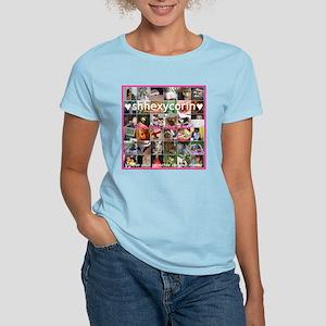 Custom Women's Pink T-Shirt