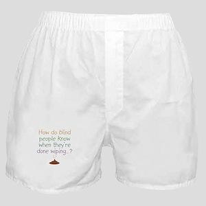 Blind Wipe Boxer Shorts