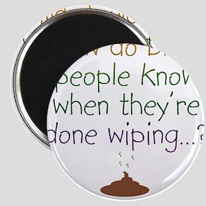 Blind Wipe Magnet
