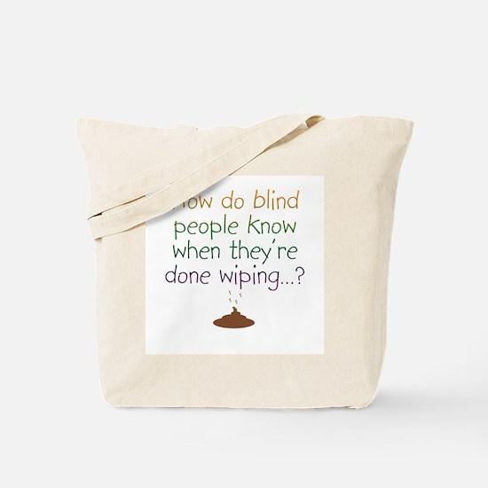 Blind Wipe Tote Bag