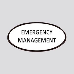 Emergency Management - Black Patches