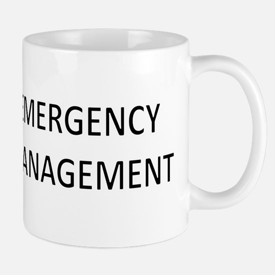 Emergency Management - Black Mug