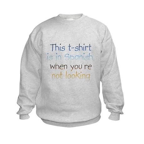 Spanish Kids Sweatshirt