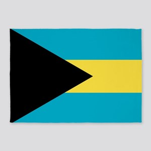 Bahamas Flag 5'x7'Area Rug