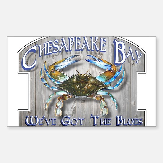 Chesapeake Bay Blue Decal