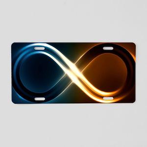 Infinite Light Aluminum License Plate
