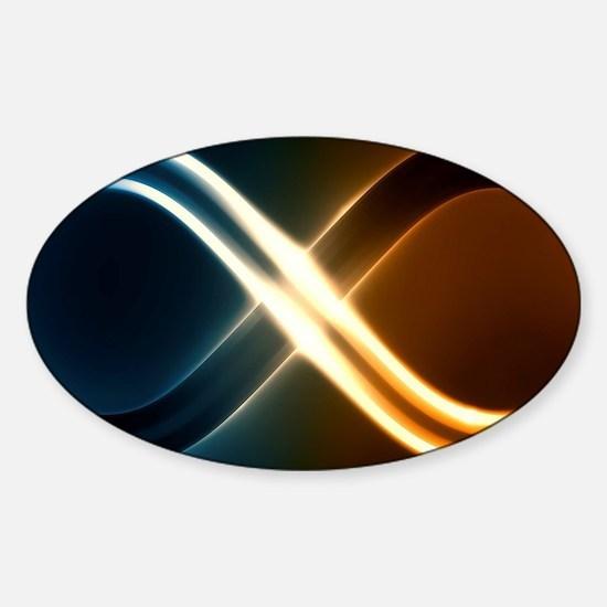 Infinite Light Sticker (Oval)