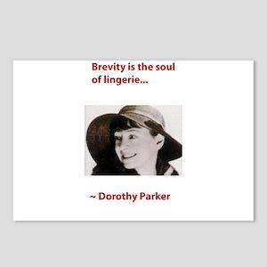 Dorothy_parker brevity lingerie Postcards (Pac