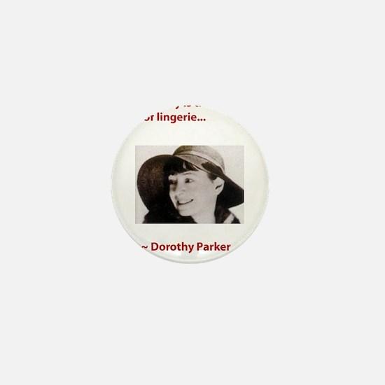 Dorothy_parker brevity lingerie.psd Mini Button