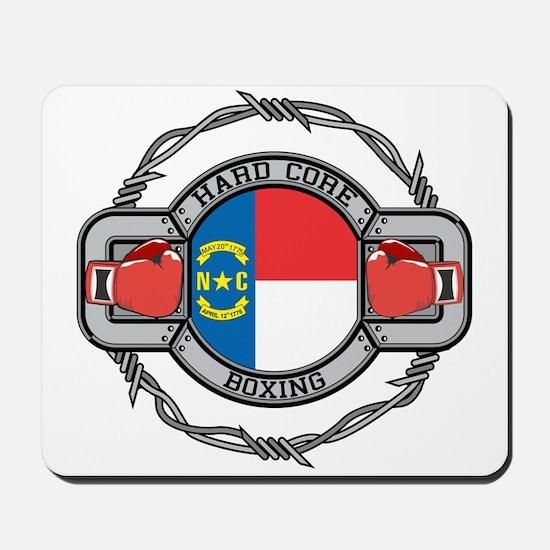 North Carolina Boxing Mousepad