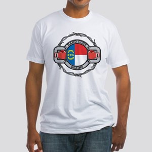 North Carolina Boxing Fitted T-Shirt