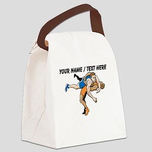 Custom Wrestling Canvas Lunch Bag