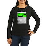 zzzzzzPod Women's Long Sleeve Dark T-Shirt