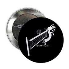 Kokopelli Volleyball Player Button