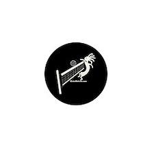 Kokopelli Volleyball Player Mini Button (100 pack)