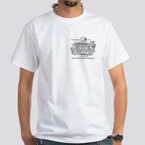 EngineLogoLargeNewBlackText T-Shirt