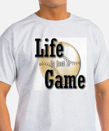 Life is just a Game Ash Grey T-Shirt
