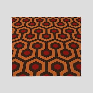 Horrible Honeycomb Pattern Throw Blanket