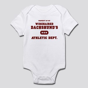 Wirehaired Dachshund Infant Bodysuit