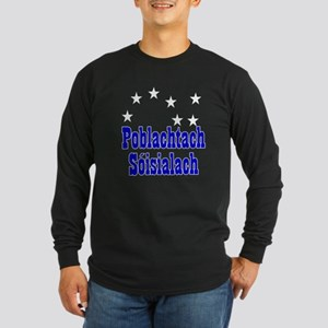 Poblachtach Sóisialach Long Sleeve Dark T-Shirt