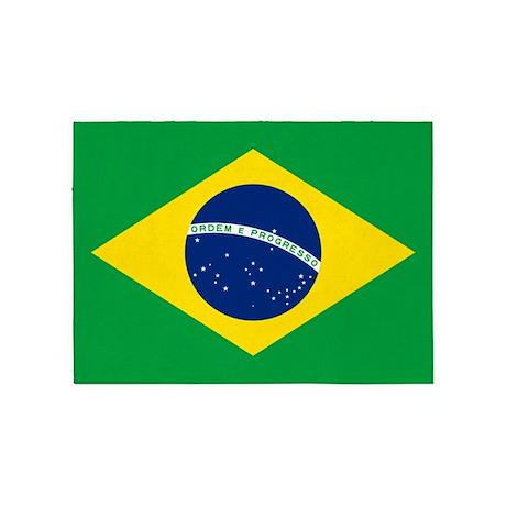 Brazil Flag Rug