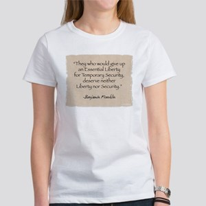 Women's T-Shirt: Security-Franklin