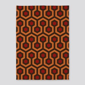 Horrible Hexagon Pattern 5'x7'Area Rug