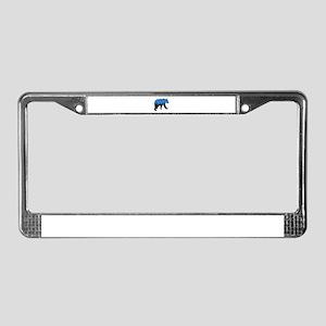 SET THE SCENE License Plate Frame