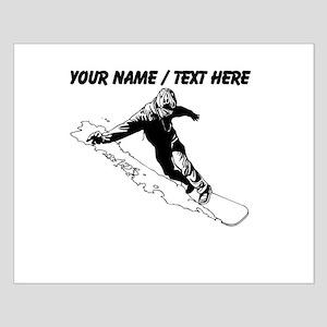 Custom Snowboarder Poster Design