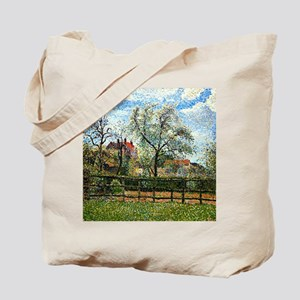 Pissarro: Pear Tree and Flowers at Eragny Tote Bag