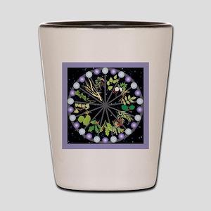 Celtic Calendar of Trees Shot Glass