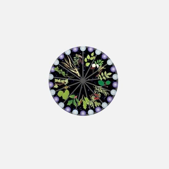 Celtic Calendar of Trees Mini Button