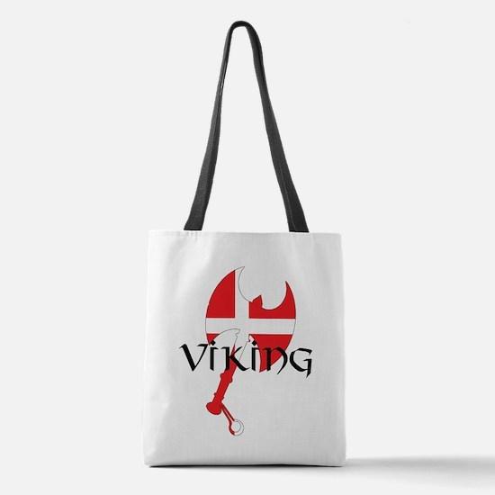 Denmark Viking Polyester Tote Bag