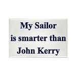 My Sailor is smarter than John Kerry Rectangle Ma