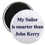 My Sailor is smarter than John Kerry Magnet