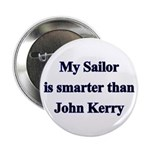 My Sailor is smarter than John Kerry Button