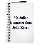 My Sailor is smarter than John Kerry Journal