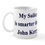 My Sailor is smarter than John Kerry Mug
