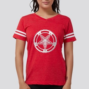 Speed Metal Cycling Pentagram Chainr T-Shirt