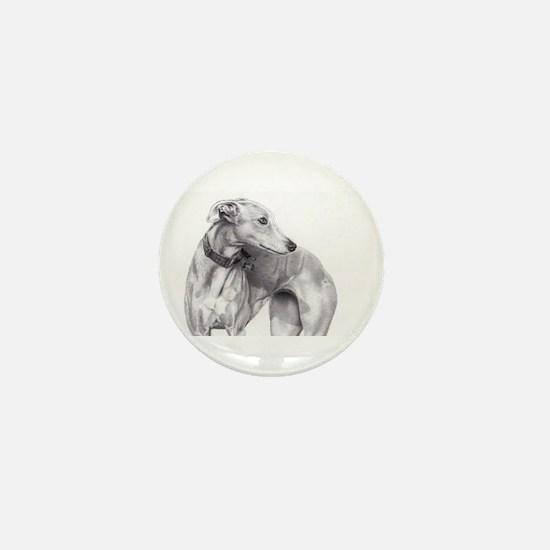 Unique Galgo Mini Button