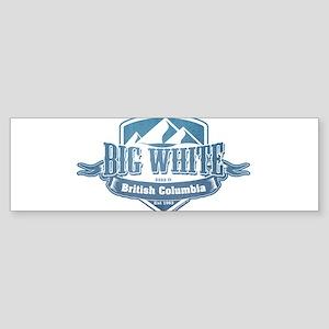 Big White British Columbia Ski Resort 1 Bumper Sti