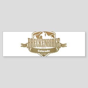 Breckenridge Colorado Ski Resort 4 Bumper Sticker